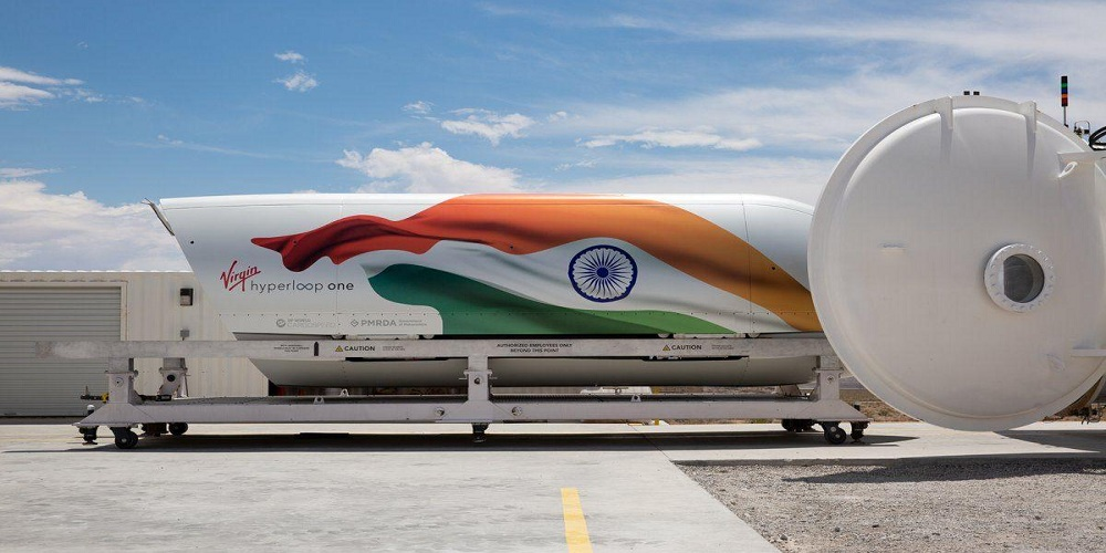 The World's First Hyperloop System Enters in India as Maharashtra Government Nods
