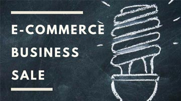 E-Commerce Business for sale !!