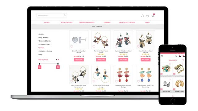 Fashion & Jewellery E-commerce Website Looking For a Buyer