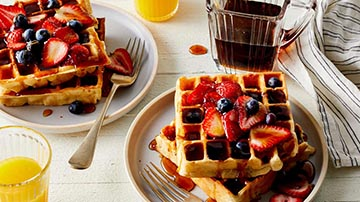 Renowned Waffles and Coffee Cafe on Sale